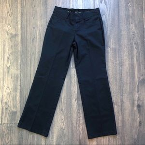 Dockers Stretch Waist Black Fitted bootcut Pants